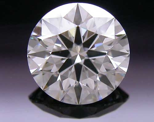 0.49 ct J VS2 A CUT ABOVE® Hearts and Arrows Super Ideal Round Cut Loose Diamond
