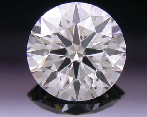0.422 ct J SI1 A CUT ABOVE® Hearts and Arrows Super Ideal Round Cut Loose Diamond