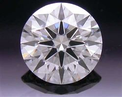 0.314 ct F SI1 A CUT ABOVE® Hearts and Arrows Super Ideal Round Cut Loose Diamond