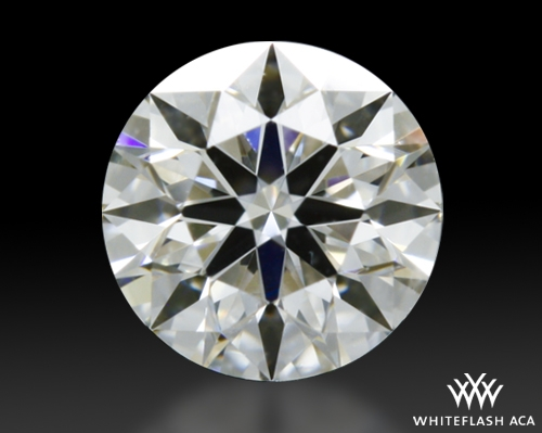 0.335 ct H VS2 A CUT ABOVE® Hearts and Arrows Super Ideal Round Cut Loose Diamond
