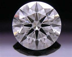 1.257 ct E VS2 A CUT ABOVE® Hearts and Arrows Super Ideal Round Cut Loose Diamond
