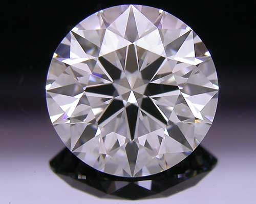1.286 ct F VS1 A CUT ABOVE® Hearts and Arrows Super Ideal Round Cut Loose Diamond