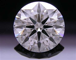 1.06 ct F SI1 A CUT ABOVE® Hearts and Arrows Super Ideal Round Cut Loose Diamond