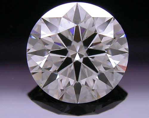 1.047 ct J VS2 A CUT ABOVE® Hearts and Arrows Super Ideal Round Cut Loose Diamond