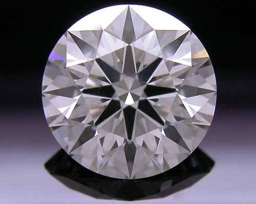 1.654 ct H VS1 A CUT ABOVE® Hearts and Arrows Super Ideal Round Cut Loose Diamond
