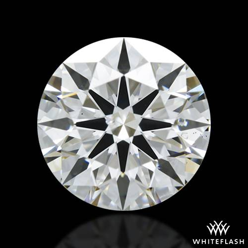 1.203 ct F SI1 A CUT ABOVE® Hearts and Arrows Super Ideal Round Cut Loose Diamond