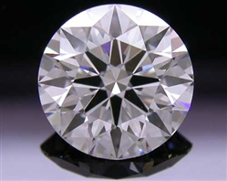 1.265 ct H VS2 A CUT ABOVE® Hearts and Arrows Super Ideal Round Cut Loose Diamond