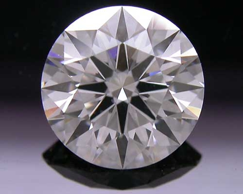 1.111 ct G VS2 A CUT ABOVE® Hearts and Arrows Super Ideal Round Cut Loose Diamond