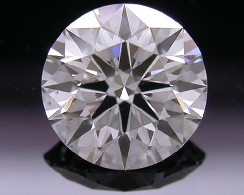 0.766 ct G SI1 A CUT ABOVE® Hearts and Arrows Super Ideal Round Cut Loose Diamond