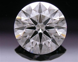 0.76 ct H SI1 A CUT ABOVE® Hearts and Arrows Super Ideal Round Cut Loose Diamond