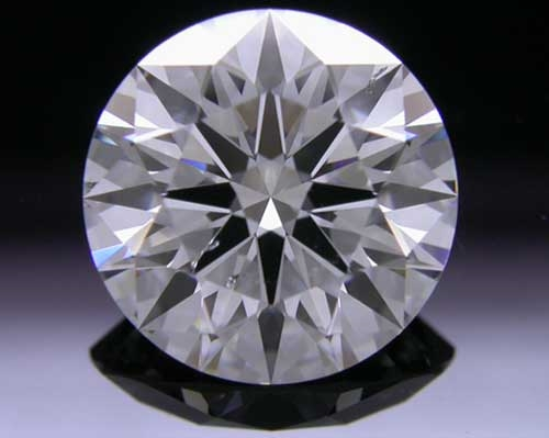 1.733 ct F SI1 A CUT ABOVE® Hearts and Arrows Super Ideal Round Cut Loose Diamond