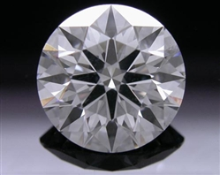 1.535 ct E SI1 A CUT ABOVE® Hearts and Arrows Super Ideal Round Cut Loose Diamond