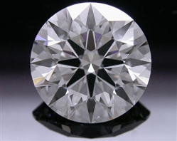 1.63 ct G VS1 A CUT ABOVE® Hearts and Arrows Super Ideal Round Cut Loose Diamond