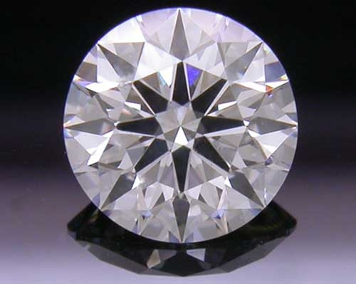 0.546 ct F SI2 A CUT ABOVE® Hearts and Arrows Super Ideal Round Cut Loose Diamond