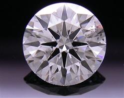 0.745 ct E SI1 A CUT ABOVE® Hearts and Arrows Super Ideal Round Cut Loose Diamond