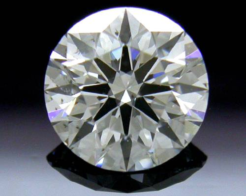 0.753 ct E SI2 A CUT ABOVE® Hearts and Arrows Super Ideal Round Cut Loose Diamond