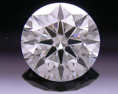 0.756 ct G SI1 A CUT ABOVE® Hearts and Arrows Super Ideal Round Cut Loose Diamond