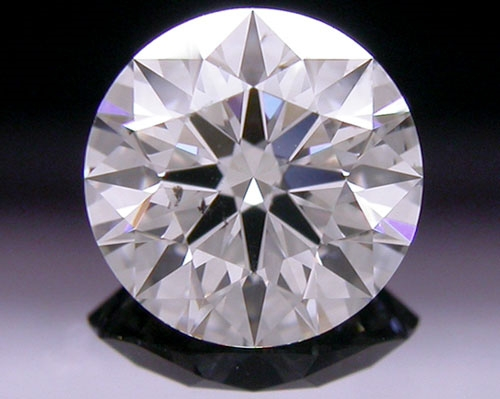 0.818 ct J VS1 A CUT ABOVE® Hearts and Arrows Super Ideal Round Cut Loose Diamond