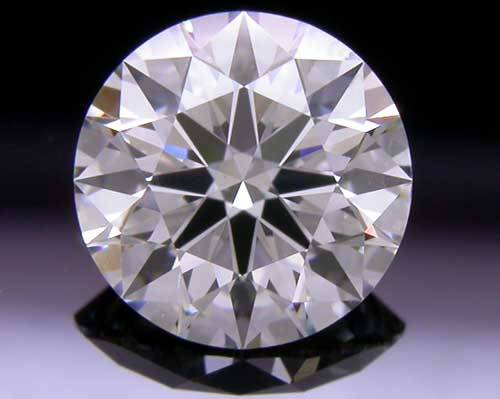 0.728 ct J VS2 A CUT ABOVE® Hearts and Arrows Super Ideal Round Cut Loose Diamond