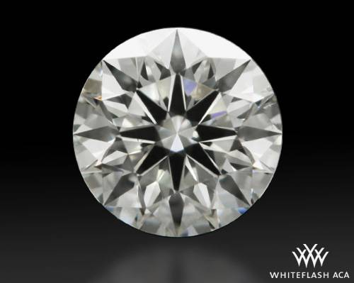 0.364 ct G VS2 A CUT ABOVE® Hearts and Arrows Super Ideal Round Cut Loose Diamond