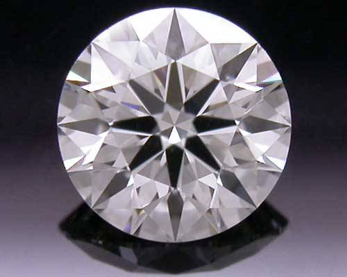 0.358 ct I VS2 A CUT ABOVE® Hearts and Arrows Super Ideal Round Cut Loose Diamond