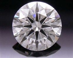 0.331 ct I SI1 A CUT ABOVE® Hearts and Arrows Super Ideal Round Cut Loose Diamond