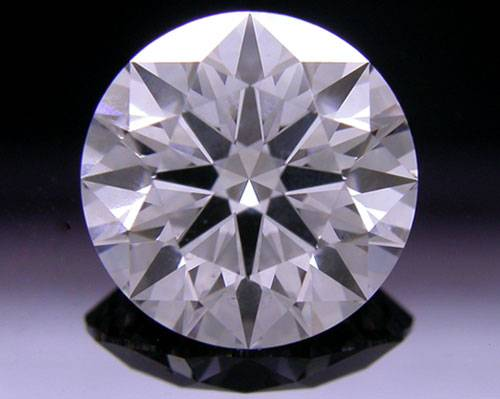 1.565 ct D SI1 A CUT ABOVE® Hearts and Arrows Super Ideal Round Cut Loose Diamond