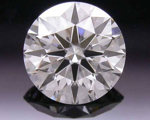 0.344 ct J VS1 A CUT ABOVE® Hearts and Arrows Super Ideal Round Cut Loose Diamond