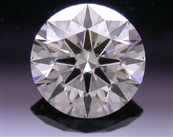 0.327 ct H VS1 A CUT ABOVE® Hearts and Arrows Super Ideal Round Cut Loose Diamond