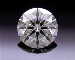 0.324 ct J VS2 A CUT ABOVE® Hearts and Arrows Super Ideal Round Cut Loose Diamond