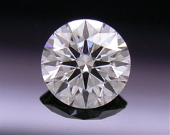 0.303 ct I SI1 A CUT ABOVE® Hearts and Arrows Super Ideal Round Cut Loose Diamond