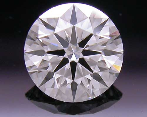0.388 ct G VS2 A CUT ABOVE® Hearts and Arrows Super Ideal Round Cut Loose Diamond