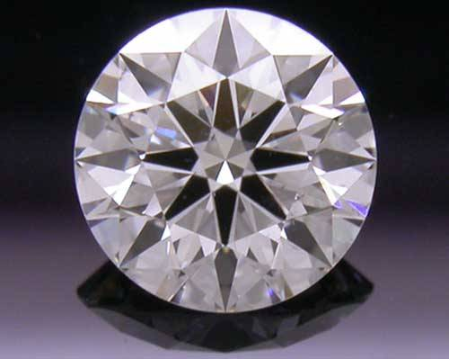 0.388 ct I SI1 A CUT ABOVE® Hearts and Arrows Super Ideal Round Cut Loose Diamond
