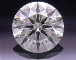 0.393 ct J SI1 A CUT ABOVE® Hearts and Arrows Super Ideal Round Cut Loose Diamond