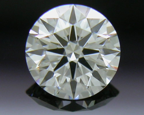 0.396 ct I SI1 A CUT ABOVE® Hearts and Arrows Super Ideal Round Cut Loose Diamond