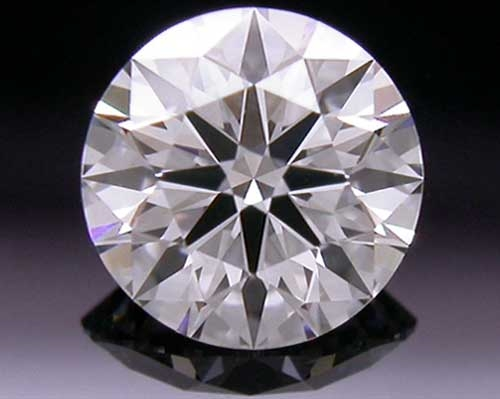 0.385 ct F VS1 A CUT ABOVE® Hearts and Arrows Super Ideal Round Cut Loose Diamond