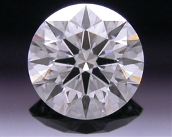 0.428 ct G SI2 A CUT ABOVE® Hearts and Arrows Super Ideal Round Cut Loose Diamond