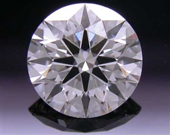 0.545 ct G VS2 A CUT ABOVE® Hearts and Arrows Super Ideal Round Cut Loose Diamond