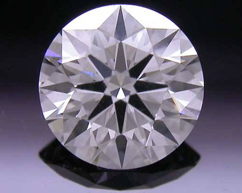 0.534 ct G SI1 A CUT ABOVE® Hearts and Arrows Super Ideal Round Cut Loose Diamond