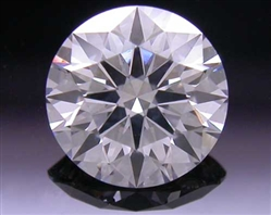 0.527 ct G SI2 A CUT ABOVE® Hearts and Arrows Super Ideal Round Cut Loose Diamond