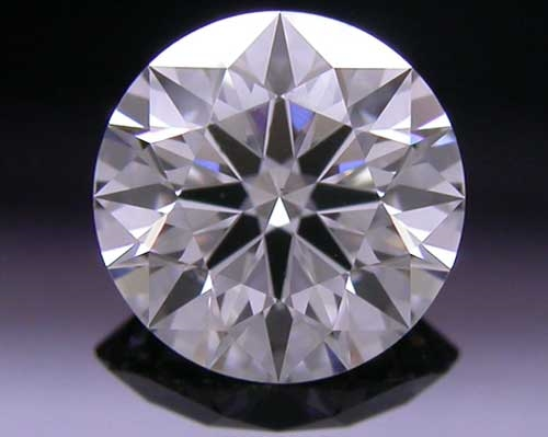 0.587 ct G SI1 A CUT ABOVE® Hearts and Arrows Super Ideal Round Cut Loose Diamond