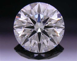 0.551 ct G SI1 A CUT ABOVE® Hearts and Arrows Super Ideal Round Cut Loose Diamond