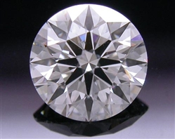 0.532 ct H SI1 A CUT ABOVE® Hearts and Arrows Super Ideal Round Cut Loose Diamond