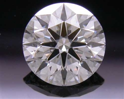 0.505 ct H SI2 A CUT ABOVE® Hearts and Arrows Super Ideal Round Cut Loose Diamond