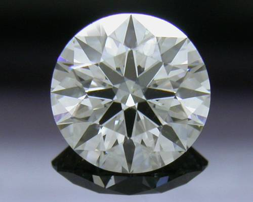 0.576 ct J VS2 A CUT ABOVE® Hearts and Arrows Super Ideal Round Cut Loose Diamond