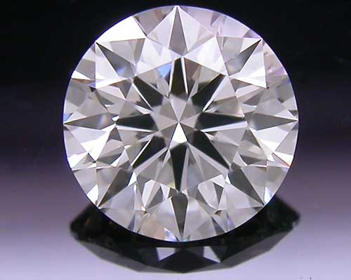 0.563 ct J SI2 A CUT ABOVE® Hearts and Arrows Super Ideal Round Cut Loose Diamond