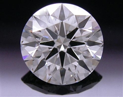 0.598 ct I SI1 A CUT ABOVE® Hearts and Arrows Super Ideal Round Cut Loose Diamond