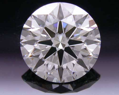 0.596 ct I SI2 A CUT ABOVE® Hearts and Arrows Super Ideal Round Cut Loose Diamond