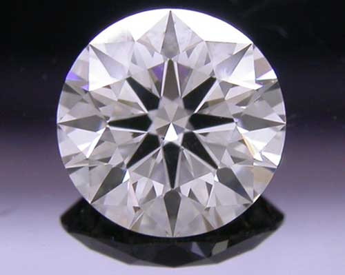 0.557 ct I SI1 A CUT ABOVE® Hearts and Arrows Super Ideal Round Cut Loose Diamond