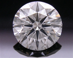 0.905 ct H VS2 A CUT ABOVE® Hearts and Arrows Super Ideal Round Cut Loose Diamond